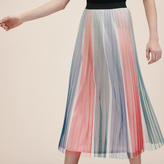 Maje Pleated midi skirt