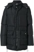 MSGM padded hooded coat - men - Polyamide/Polyester - 46