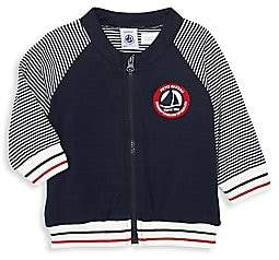 Petit Bateau Baby Boy's Striped Jacket