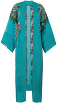 Alberta Ferretti embroidered kimono - women - Silk/Cotton/Polyamide/Rayon - 40