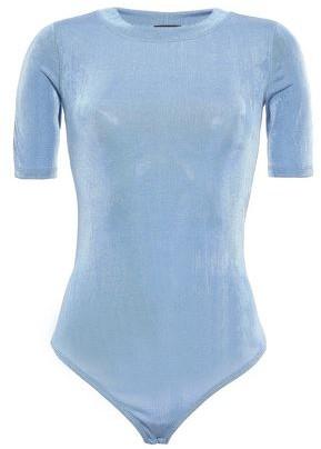 Alix Stretch-jersey Moire Bodysuit