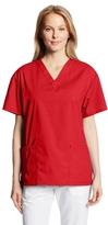 Dickies Women's EDS Signature Scrubs 86706 Missy Fit V-Neck Top (Size 2X-5X)