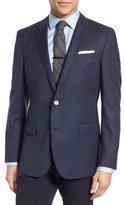 BOSS Men's Hutsons Trim Fit Herringbone Wool Sport Coat