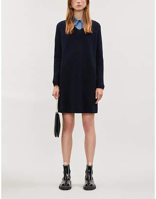 Max Mara S Elba wool and cashmere-blend dress
