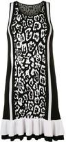 Just Cavalli leopard print mini dress