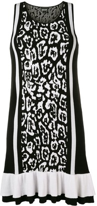 Just Cavalli leopard print mini dress