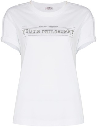 Brunello Cucinelli Youth Philosophy T-shirt
