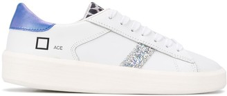 D.A.T.E Glitter Panel Low Top Sneakers