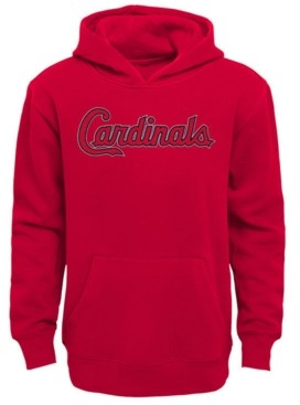 Outerstuff Little Boys St. Louis Cardinals Wordmark Pullover Fleece Hoodie