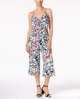 NY Collection Ruffled Culotte Jumpsuit