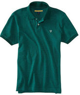 Aeropostale Mens Prince & Fox Faded Piqu? Polo Shirt