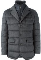 N.Peal quilted woven jacket