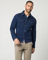 Le Château Denim Button-Front Jacket