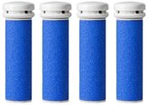 Extra Coarse Pedicure Replacement Rollers Compatible with Emjoi Micro Pedi Callus Remover, Refills Roller Heads (Pack of 4)