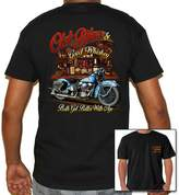 Biker Life Clothing Biker Life USA Old Bikes And Good Whiskey T-Shirt