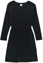Des Petits Hauts Hyacinthe Stripe Lurex Dress with Buttons