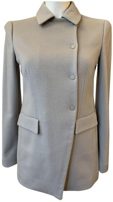 Emporio Armani Beige Cashmere Coat for Women