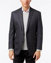 MICHAEL Michael Kors Men's Classic-Fit Gray and Black Check Sport Coat