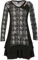 Izabel London **Izabel London Multi Black Long Dress