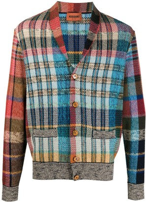 Missoni Checked Buttoned Cardigan