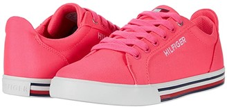 Tommy Hilfiger Herritage Bright (Little Kid/Big Kid) (Neno Pink Canvas) Girl's Shoes