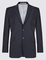 Marks And Spencer Indigo Regular Fit Suit