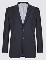 Marks And Spencer Navy Regular Fit Suit