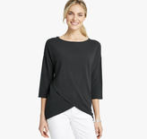 Johnston & Murphy Dolman-Sleeve Knit Top