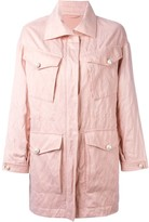 Ermanno Scervino multi-pockets zipped coat