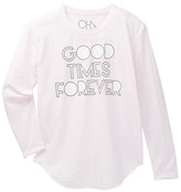 Chaser Good Times Forever Long Sleeve Top (Big Girls)