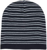 Joe Fresh Men's Reversible Stripe Hat, JF Midnight Blue (Size O/S)