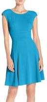 Julia Jordan Women's Cap Sleeve Fit & Flare Dress