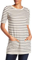French Connection Normandy Stripe Tee Dress