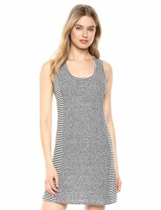 Splendid Women's Linen Scoop Neck Sleeveless Tank Dress