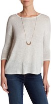 Joie Bodie 3/4 Length Sleeve Sweater