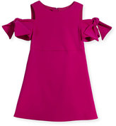 Milly Minis Berry Cady Mod Tie Mini Dress, Size 4-7