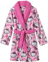 Hello Kitty Girls 4-10 Fleece Bath Robe