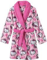 Hello Kitty Girls 4-10 Fleece Bath Robe