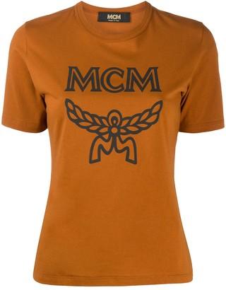 MCM logo-print cotton T-shirt