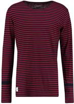 NATIVE YOUTH BIRLING Long sleeved top indigo/burgundy