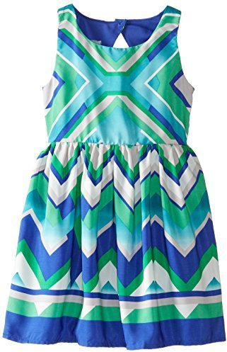 Ruby Rox Big Girls' Printed Dress