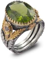 Emma Chapman Jewels - Orisha Peridot & Diamond Ring