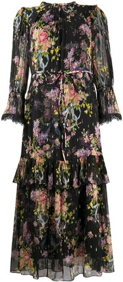 Needle & Thread All-Over Floral Dress