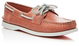 Sperry Women's Authentic Original Two Eye White Cap Boat Shoes
