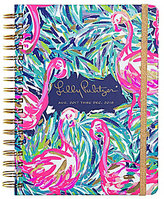 Lilly Pulitzer 2017-2018 Flamenco Beach Large Agenda