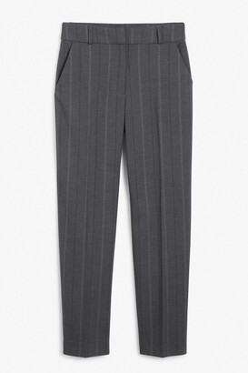 Monki Tapered leg trousers