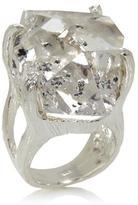 "Deb Guyot Designs Bold Herkimer ""Diamond"" Quartz Bold Solitaire Ring"