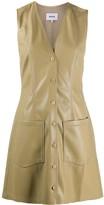 Nanushka Menphi faux leather mini dress