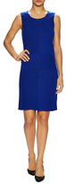 Lafayette 148 New York Solid Ribbed Sheath Dress