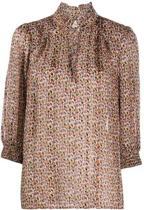 BA&SH Dalas patterned blouse